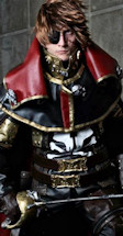 captain harlock movie cosplay