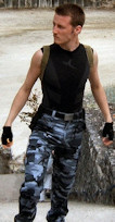 Lara Croft Tomb Raider 3 Nevada cosplay