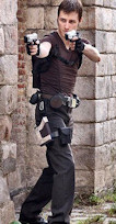 Lara Croft Tomb Raider Underworld cosplay