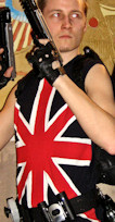 Lara Croft Tomb Raider Legend Union Jack cosplay