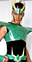 Dragon Cloth Shiryu Saint Seiya cosplay